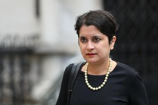 Baroness Chakrabarti at the Royal Courts of Justice for the judicial review hearing into the decision to prorogue Parliament