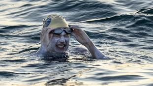 Plan to cross Channel four times helped swimmer overcome cancer