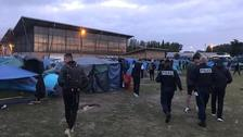 Dunkirk camp cleared as migrant Channel crossings increase