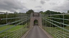 Union Chain Bridge on the England Scotland border