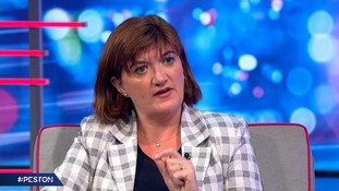 Nicky Morgan tells Robert Peston she will remain in Government in the event of no-deal Brexit
