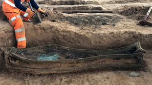 Archaeologists working on HS2 finish excavation of 19th-century burial ground