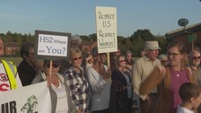 Villagers protest as HS2 confirms Buckinghamshire woodland to be cleared