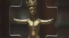 An 800-year-old figure of Christ that once adorned a York abbey will return to the city after nearly two centuries.