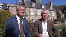 UK Conservative MP Andrew Rosindell and Sinn Féin TD Seán Crowe