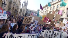West Country climate strikes: thousands descend on region's city centres
