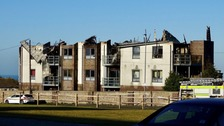 Block of flats in Brighton destroyed by fire