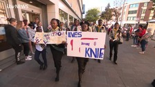 Thousands march through Hull to protest over knife crime