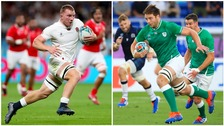 England and Ireland got off to winning starts.