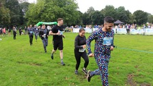 Runners in pyjamas break Guinness World Record