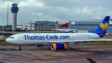 Thomas Cook planes have been grounded after the company collapsed into administration