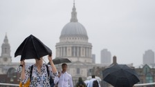 Yellow weather warning as UK set to be battered by heavy rain