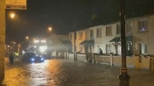 Residents allowed home after flooding in Sion Mills