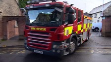 Essex firefighters were called to a fire and gas explosion in a bungalow in Clacton.