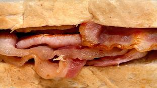 No need to cut down on bacon sandwiches, researchers say