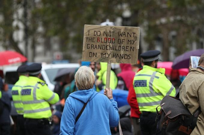 Extinction Rebellion is calling on the Government to declare a climate and ecological emergency, to act immediately to halt wildlife loss and to reduce greenhouse gas emissions to net-zero by 2025