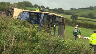 Volunteer doctor talks about treating patients at the scene of horror bus crash in Devon