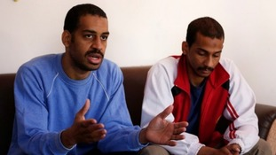 Alexanda Amon Kotey, left, and El Shafee Elsheikh.