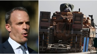 Turkey's military assault in Syria 'weakens fight against IS', says Dominic Raab