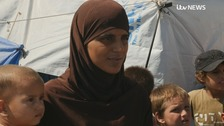 British woman among hundreds of IS supporters to flee Syrian camp