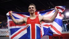 Gymnast Max Whitlock takes gold at World Championships
