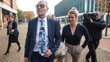'Tactile' Gascoigne denies kissing a women without her consent in second day of sexual assault trial