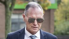 Gascoigne grabbed my face and kissed me, accuser tells trial