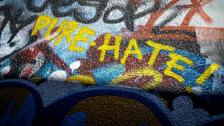 Reported hate crimes up 10% to record high