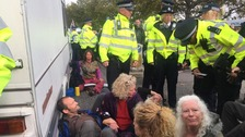 Police under fire over ban on extinction rebellion gatherings in London