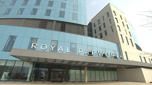 The Royal Papworth Hospital in Cambridge.