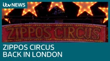 Sally joins Zippos Circus as it returns to London