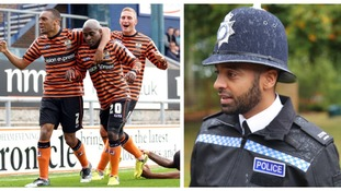 From the pitch to the police force: Former Notts County player scores jobs defending community