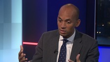 Chuka Umuna says climate change protestors 'repelling' support by targeting Tube
