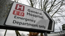 Warning to patients after hospitals placed on 'black alert'