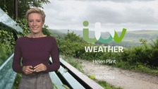 Helen Plint has the latest weather