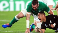 All Blacks dismantle Ireland to secure semi-final against England