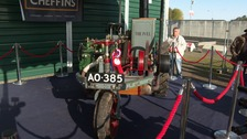 Historic and 'famous' tractor fetches £310,000 at auction