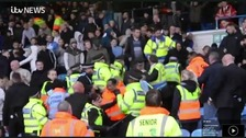 Stewards hurt as fans arrested at Leeds match