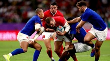 Wales through to semi-finals after thrilling victory over France