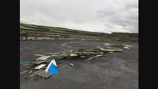 Ton of asbestos dumped in Cumbrian lay-by