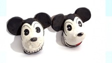 Mickey Mouse Halloween masks made in Nazi Germany for sale in Norfolk