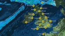 Tuesday's weather: Bright and sunny for most