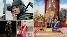 Thai king strips royal noble consort of titles for 'disloyalty'