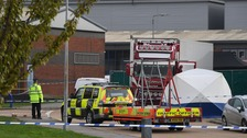 39 people found dead in a lorry trailer in Essex