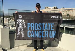 So far he has raised more than £65,000 of his £250,000 target for Prostate Cancer UK.