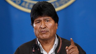 Bolivia's President Evo Morales has announced his resignation.