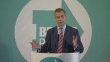 Brexit Party leader Nigel Farage says party will not contest Tory seats as he sets sights on Labour targets