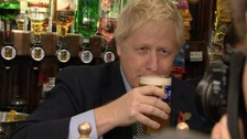 Boris blows his 'do or dry' pledge on campaign trail in Wolverhampton