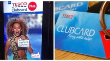 Leeds star Mel B in row with Tesco over bus stop advert