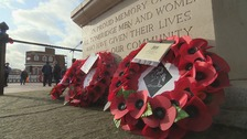 Young and old pay tribute on Armistice Day